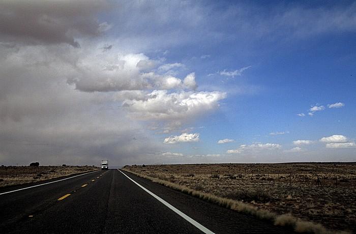 Coconino County Kaibito Plateau: U.S. Route 89 zwischen Bitter Springs und Page