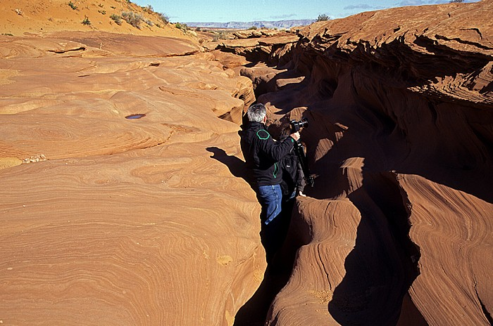 Lower Antelope Canyon: Eingangsbereich Page