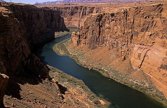 Page Glen Canyon mit Colorado River