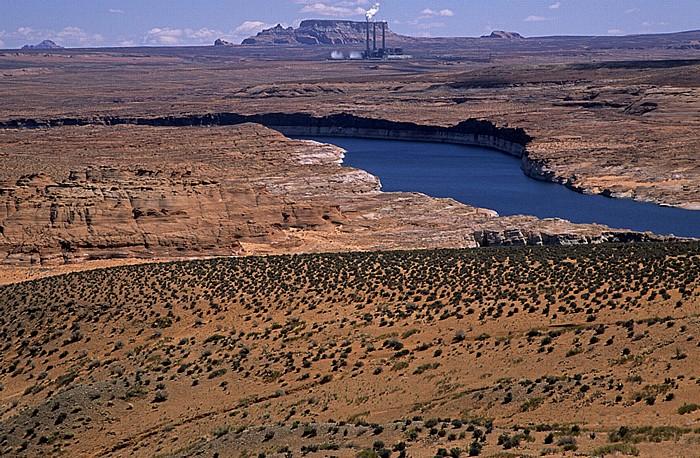 Glen Canyon National Recreation Area Lake Powell Navajo Generating Station