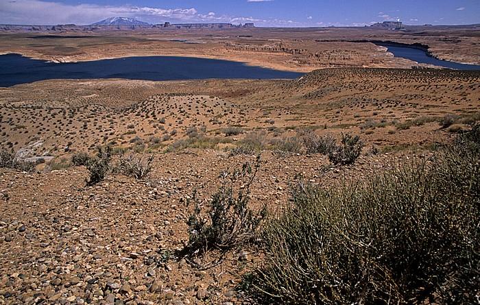 Glen Canyon National Recreation Area Lake Powell: Wahweap Bay Navajo Generating Station