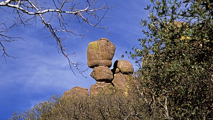 Felsskulpturen Chiricahua National Monument