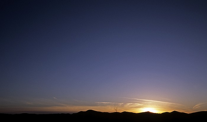 Sonnenuntergang Cochise County