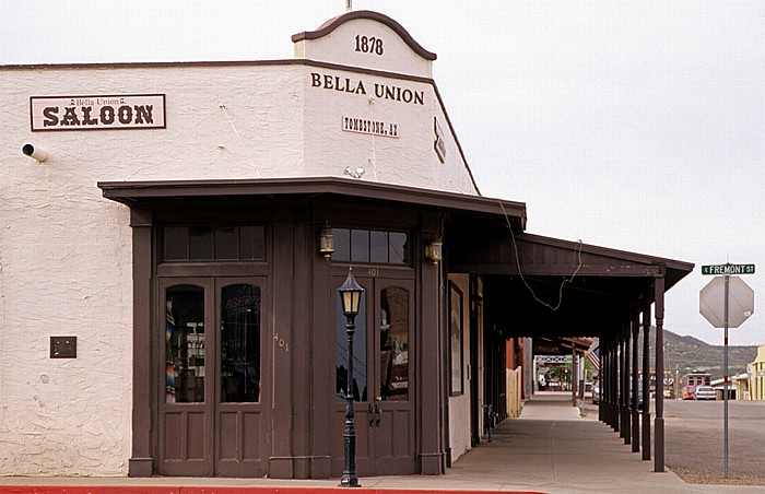 Tombstone Historic District: Bella Union Saloon