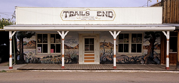 Tombstone Historic District: Trails End