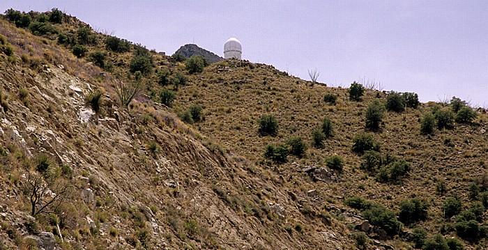 Kitt Peak National Observatory (KPNO) mit dem Mayall 4m Telescope