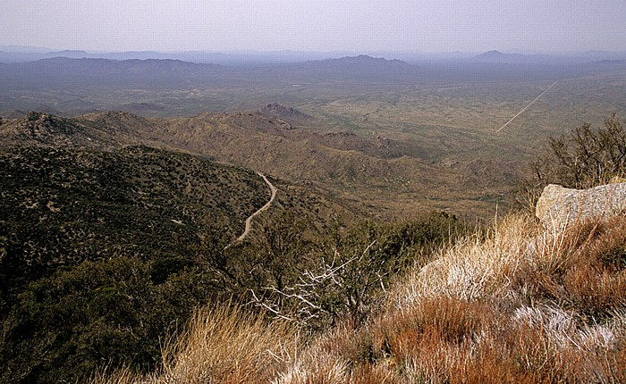 Blick vom Kitt Peak National Observatory (KPNO)