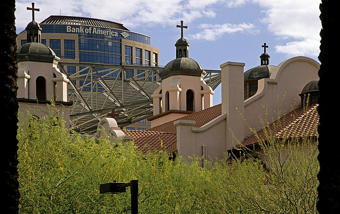 Downtown Phoenix: St. Mary's Basilica Phoenix