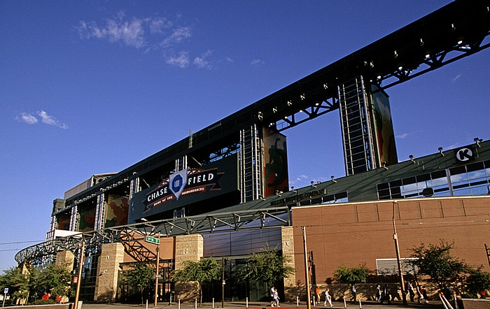 Downtown Phoenix: Chase Field