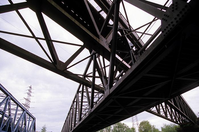 Oberhausen Brücken über den Rhein-Herne-Kanal