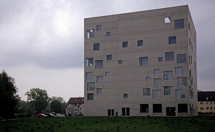 Essen Zeche Zollverein: Zollverein-Kubus (SANAA-Gebäude)