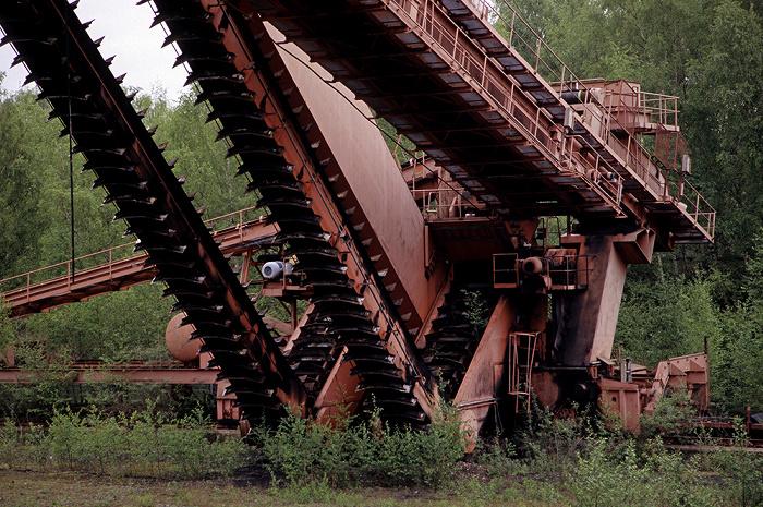 Essen Zeche Zollverein: Fördermaschine der Firma Gustav Schade