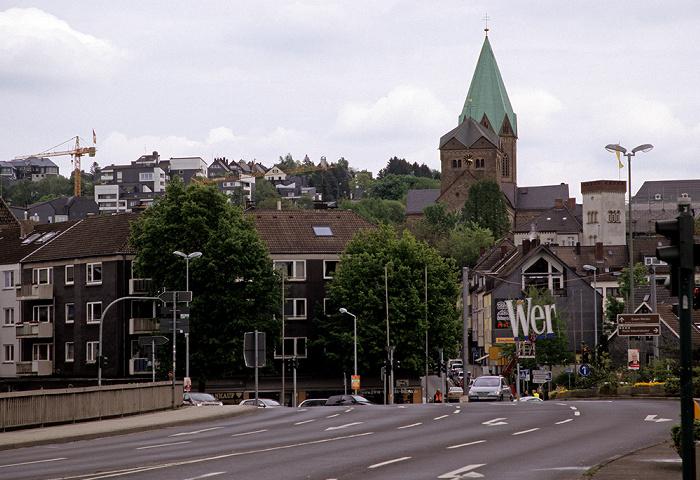 Essen Werden: Abteikirche St. Ludgerus (Ludgerusbasilika)
