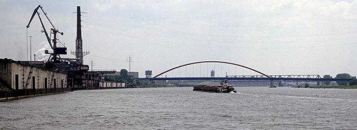 Duisburg Rhein Brücke der Solidarität Hochfeld Rheinhausen