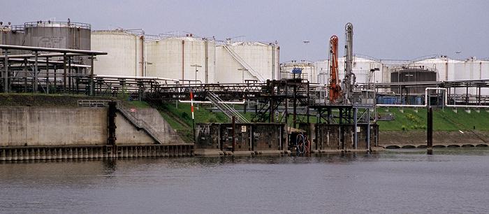 Duisburg Rhein-Herne-Kanal: Ölinsel