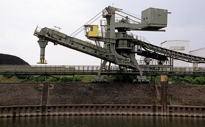 Duisburg Rhein-Herne-Kanal: Kohleninsel