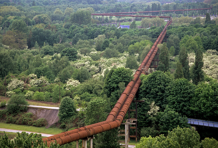 Landschaftspark Duisburg-Nord: Blick vom Hochofen 5