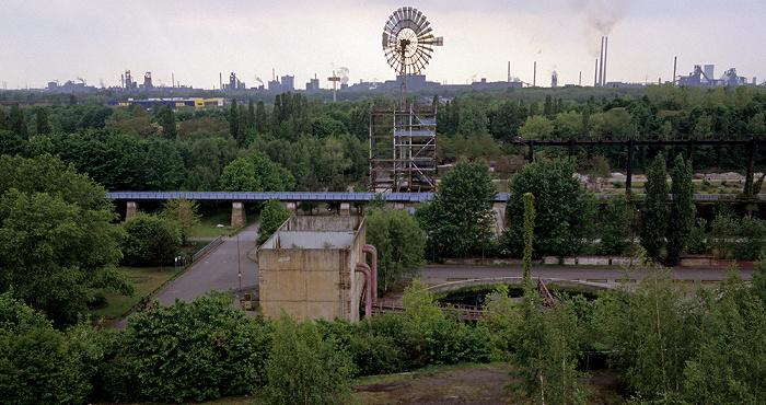 Landschaftspark Duisburg-Nord: Blick vom Hochofen 5 Marxloh
