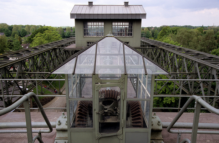 Schleusenpark Waltrop: Schiffshebewerk Henrichenburg