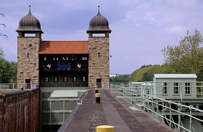 Schleusenpark Waltrop: Alte Schachtschleuse