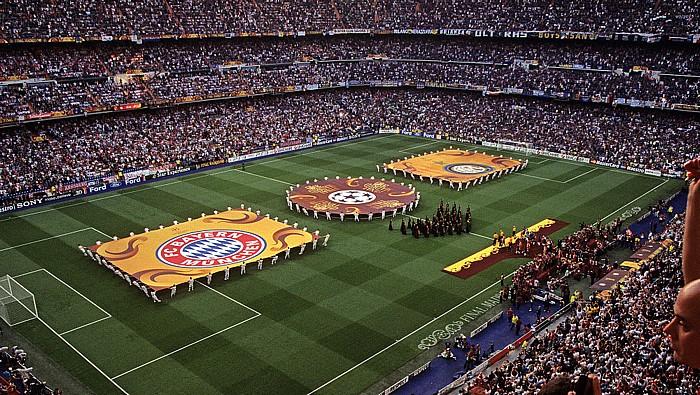 Madrid Estadio Santiago Bernabéu: Finale UEFA Champions League FC Bayern München - Inter Mailand