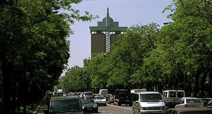 Madrid Paseo de la Castellana: Torres de Colón