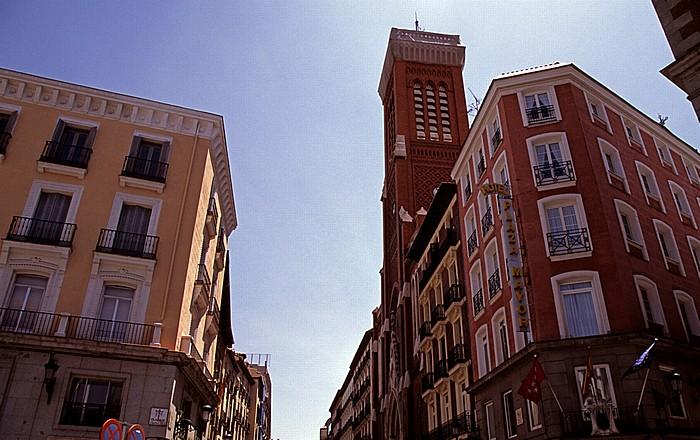 Plaza de la Provincia / Calle de Atocha: Iglesia de la Santa Cruz Madrid 2010