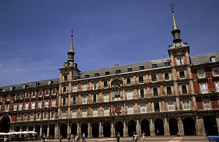 Plaza Mayor: Casa de la Panadería Madrid 2010