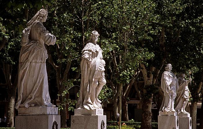 Madrid Plaza de Oriente: Jardines de Lepanto