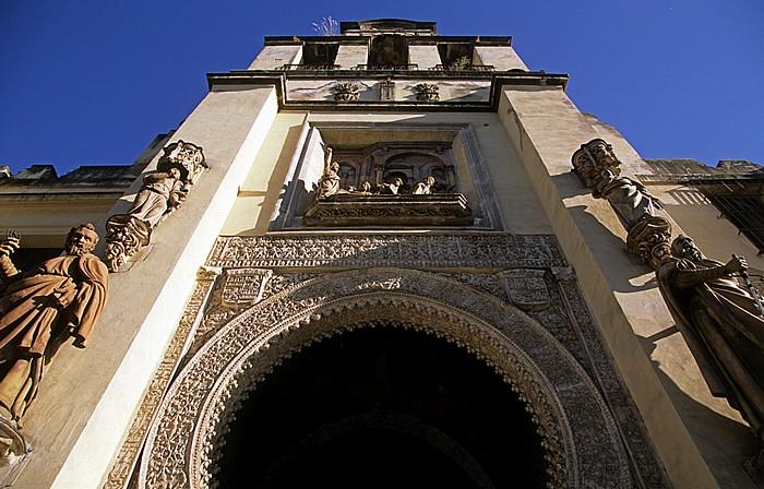 Centro: Kathedrale (Santa María de la Sede): Puerta del Perdón Sevilla 2010