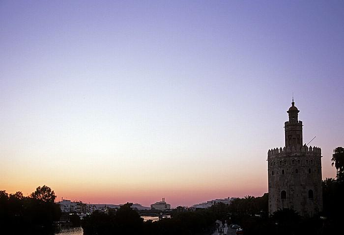 Sevilla Guadalquivir, Torre del Oro (Goldturm) Torretriana