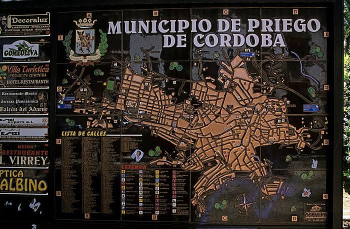 Priego de Córdoba Stadtplan