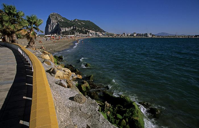 La Línea de la Concepción Gibraltar, Bahía de Algeciras (Bay of Gibraltar)