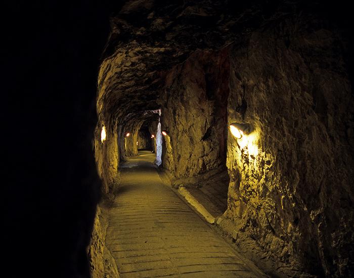 Fels von Gibraltar: Galerien (Galleries, Great Siege Tunnels)