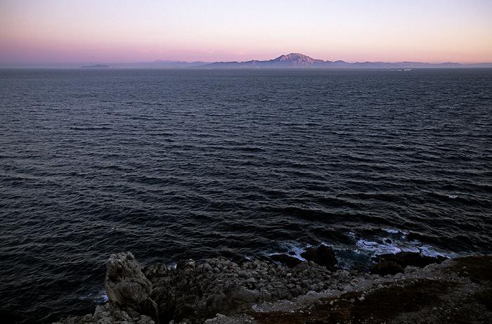 Europa Point, Straße von Gibraltar (Mittelmeer), Nordafrika