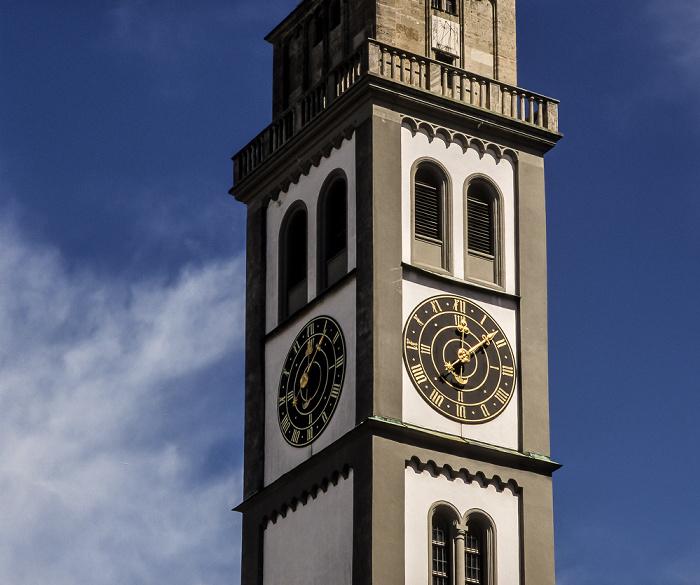 Augsburg Turm von St. Peter am Perlach