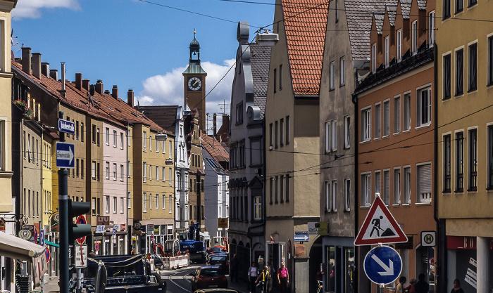 Augsburg Jakoberstraße St. Jakob