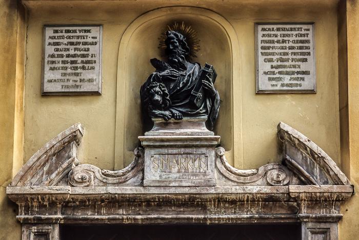 Augsburg Fuggerei: Markuskirche