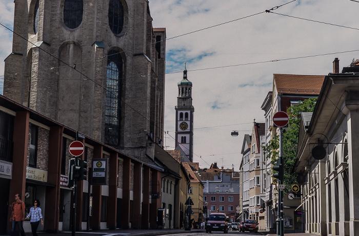 Augsburg Barfüßerstraße Barfüßerkirche St. Peter am Perlach