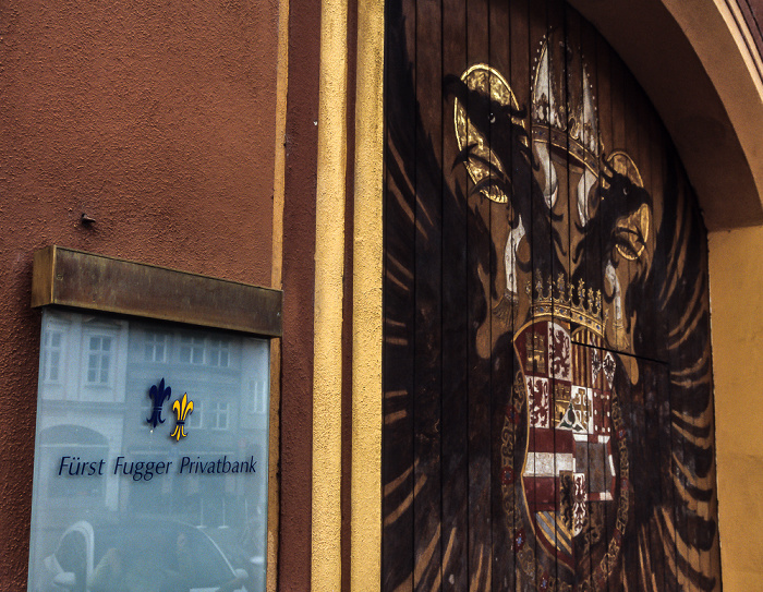 Augsburg Maximilianstraße: Fürst Fugger Privatbank