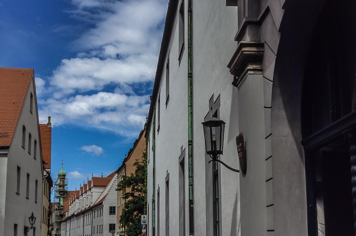 Augsburg Spitalgasse Augsburger Puppenkiste St. Margareth