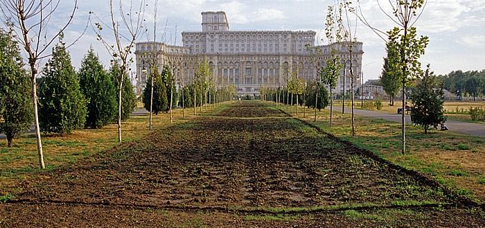 Bukarest Izvor Park, Parlamentspalast (Palast des Parlamentes)