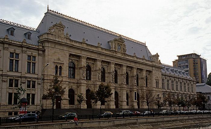 Bukarest Splaiul Independentei: Justizpalast