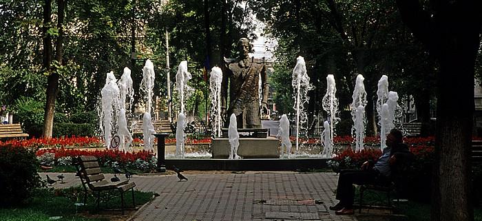 Bukarest Parcul Izvorul Rece: Brunnen
