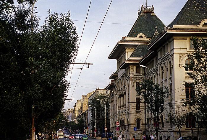 Bulevardul Regina Elisabeta: Rathaus von Bukarest (Palatul Ministerului Lucrarilor Publice)