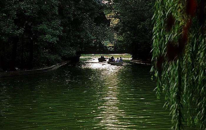 Bukarest Cismigiu-Park (Gradina Cismigiu)