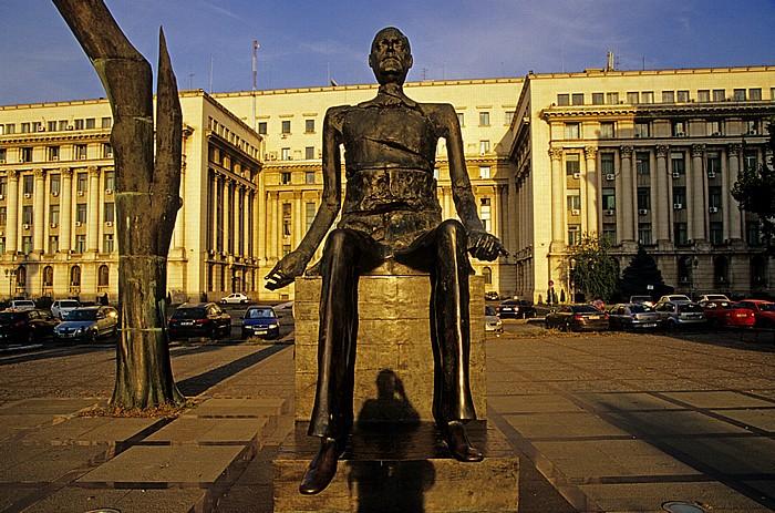 Bukarest Revolutionsplatz (Piata Revolutiei)
