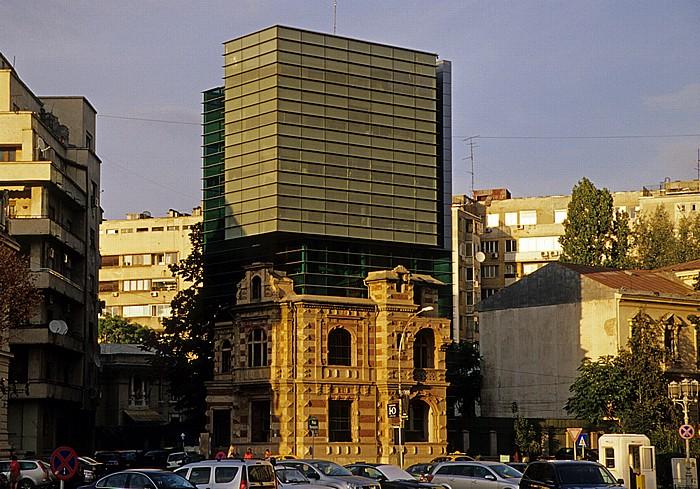 Bukarest Revolutionsplatz (Piata Revolutiei): Blocul UAR (bis 1989 Directia 5 Securitate)