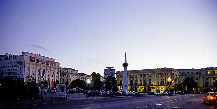 Bukarest Revolutionsplatz (Piata Revolutiei) Nationales Kunstmuseum