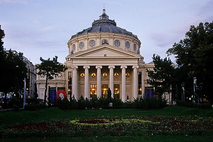 Bukarest Revolutionsplatz (Piata Revolutiei): Athenäum (Ateneul Român Filarmonica George Enescu)